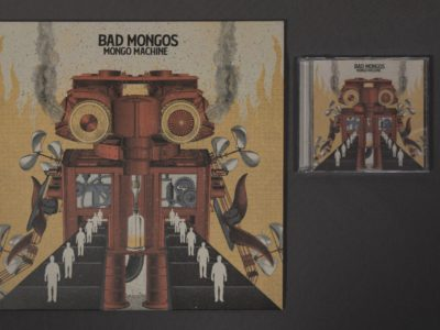 "BAD MONGOS – Mongo Machine – Vinilo 12"" + CD Jewel box"