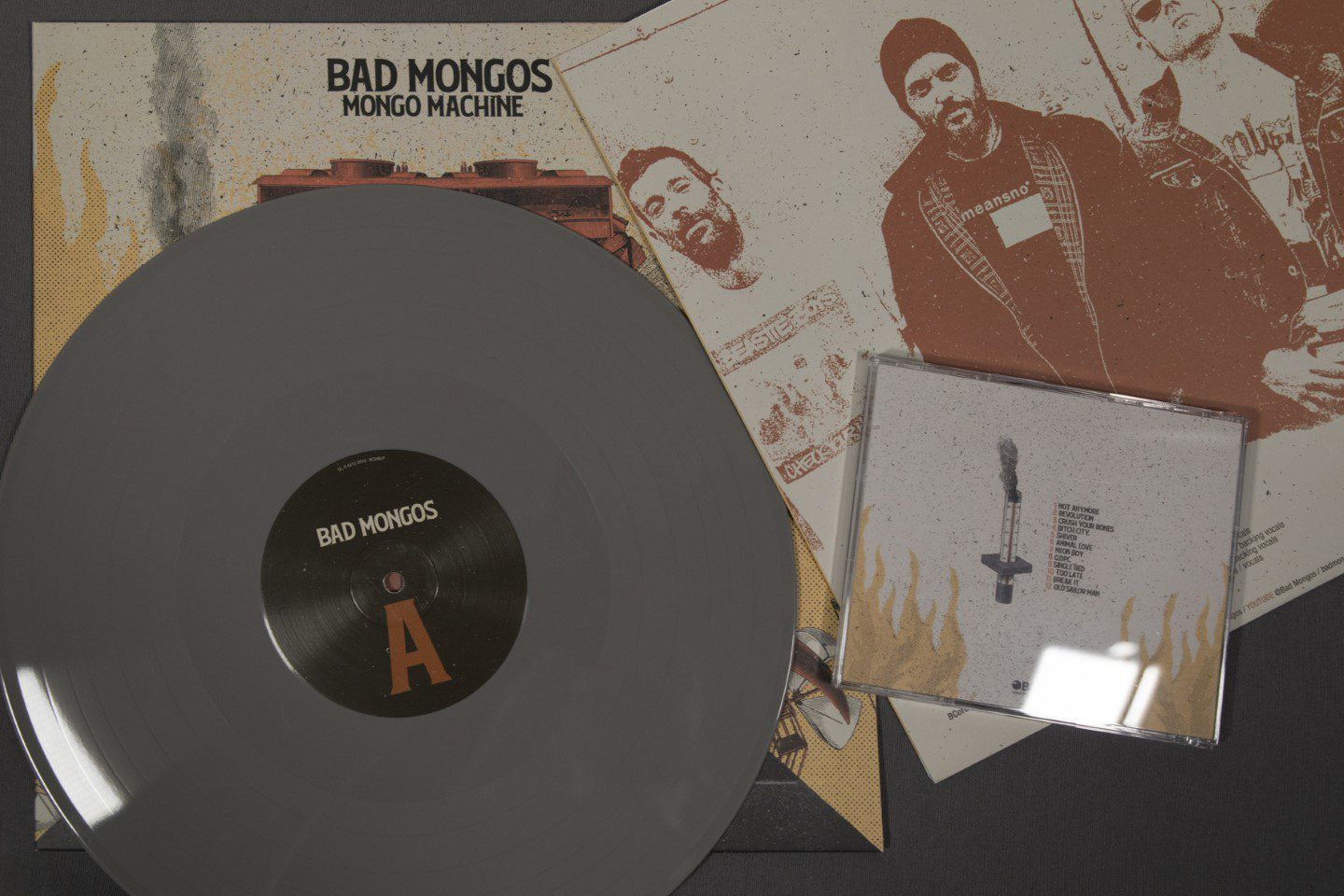 "BAD MONGOS - Mongo Machine - Vinilo 12"" + CD Jewel box"