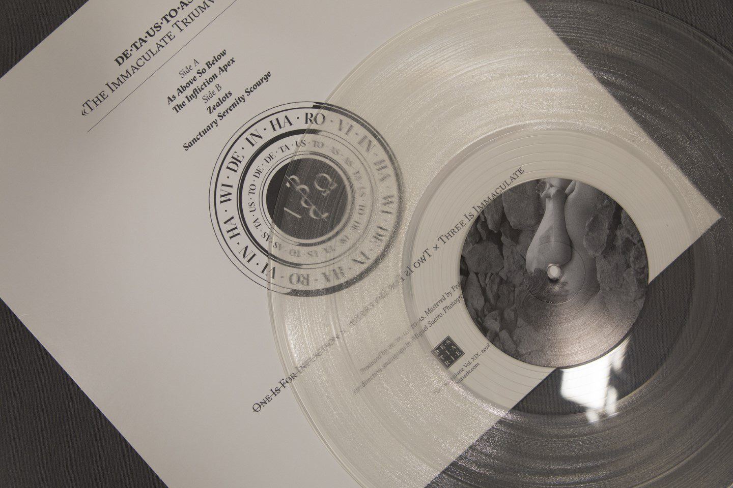 DE·TA·US·TO·AS – The Immaculate Triumvirate - Vinilo 12""
