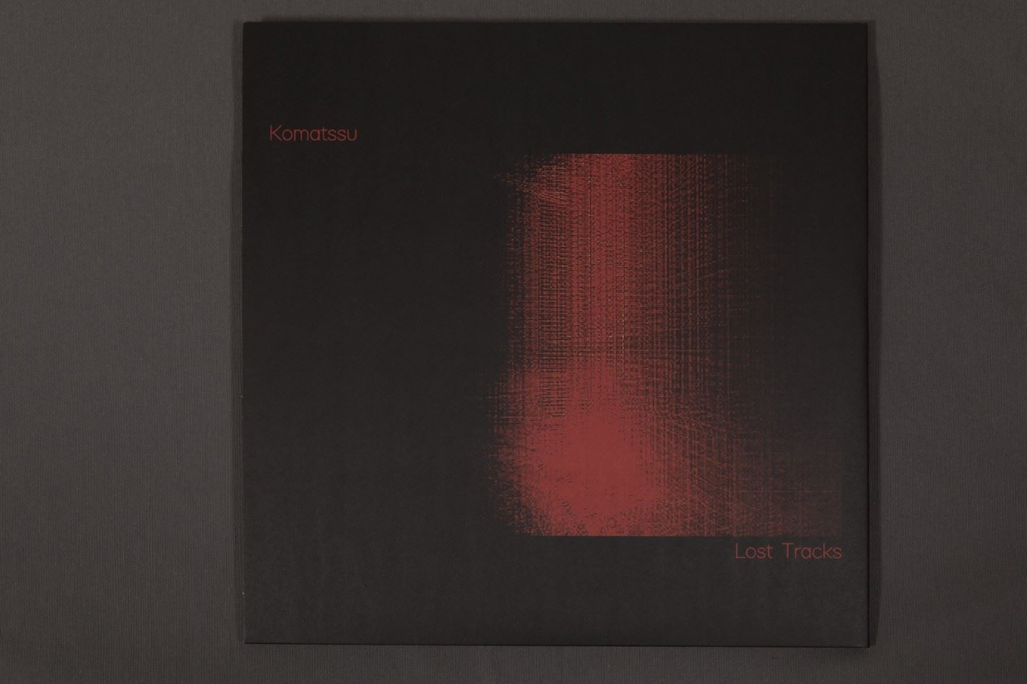 "Komatssu – Lost Tracks - Vinilo 12"" Doble (2 discos)"