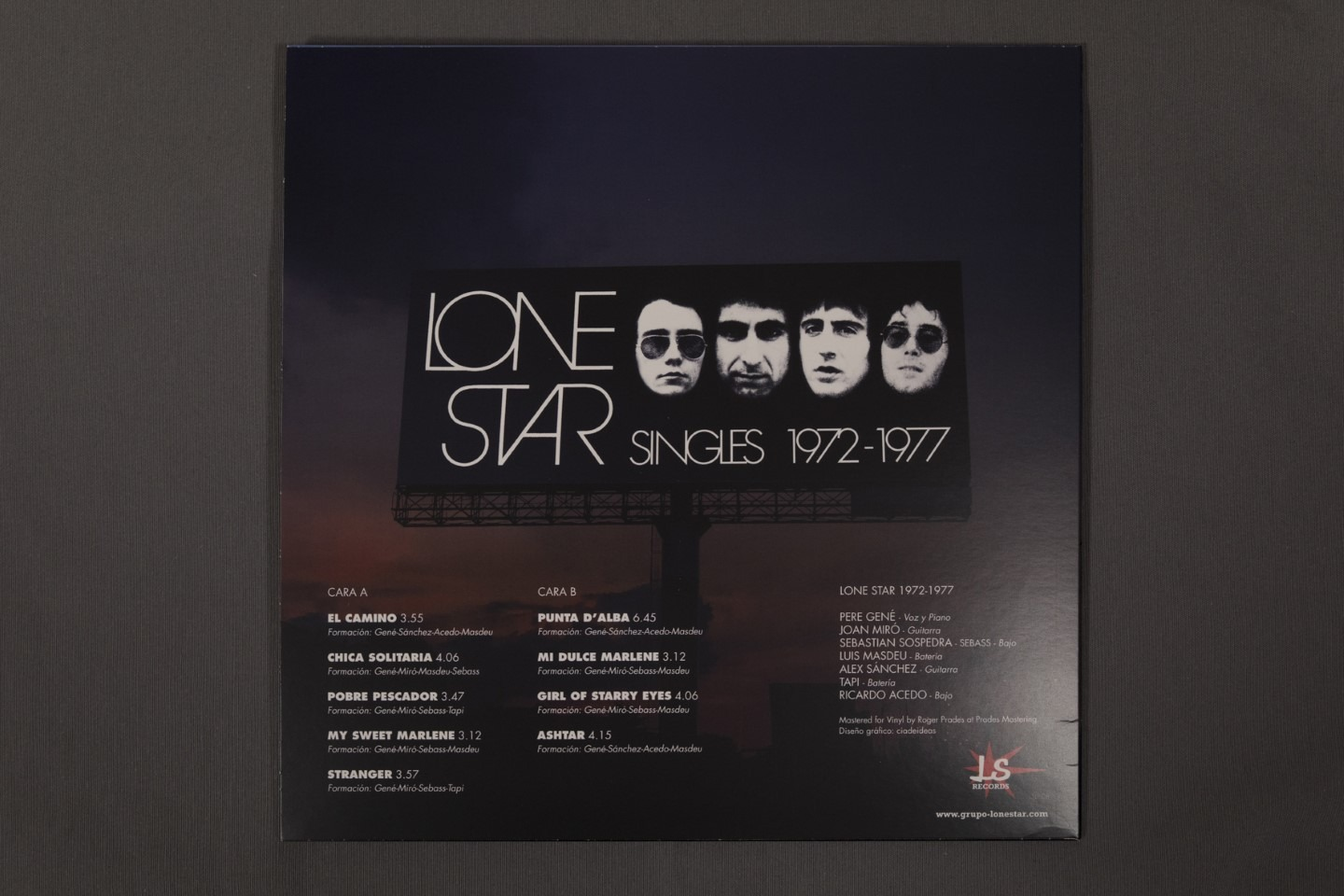 Lone Star | prensado vinilo | Wolfpack Iberia